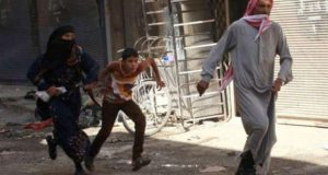 Five Raids On Raqqa City, And A Death Of A Whole Family In Al-Hamrat