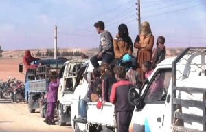 Eastern Raqqa experiencing displacement toward…